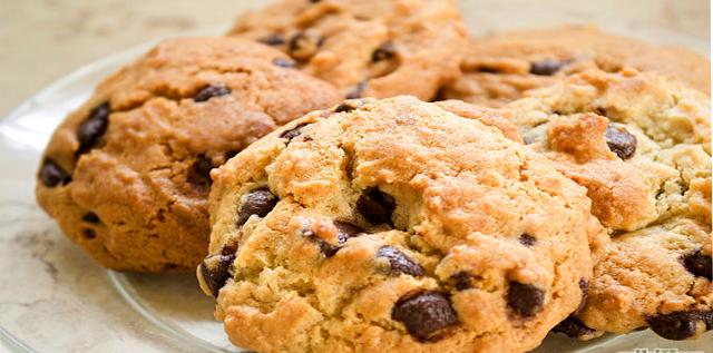 Receta de Galletas chocolate chip con Nutella, unas galletas de chocolate fáciles de hacer y muy ricos