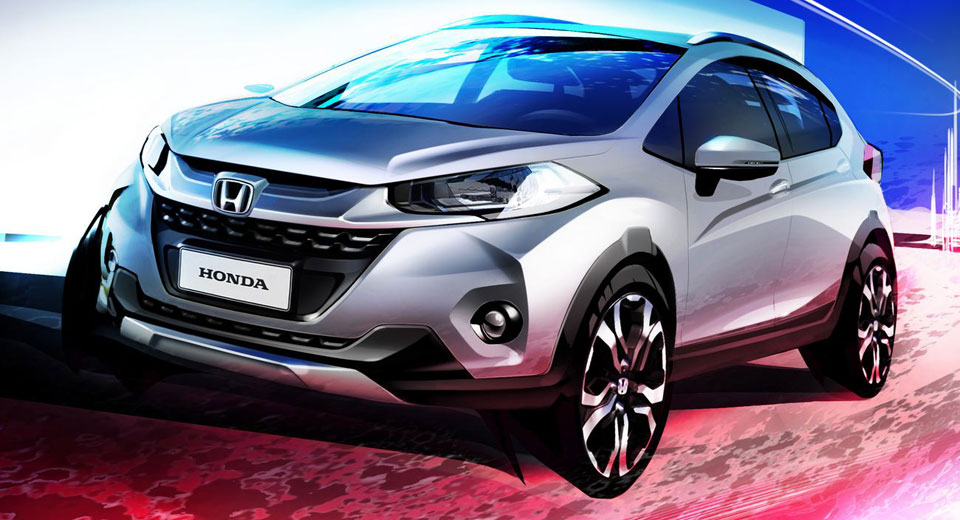 New Compact Honda WR-V SUV destined for Brazil