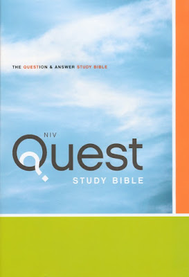 NIV Quest Study Bible on Daily Favor Blog