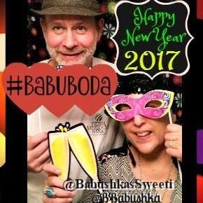 Auld Lang Syne Happy New Year 2017 Babushka & Sweetie