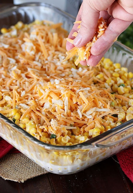 How to Make Cheesy Fiesta Corn Casserole Image