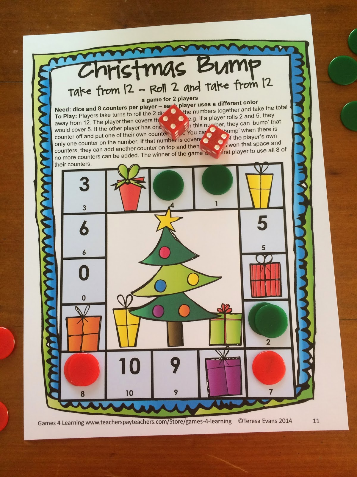 Fun Games 4 Learning Christmas Math Fun
