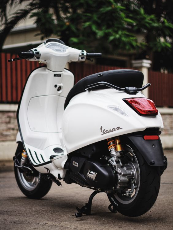 Modifikasi Vespa Sprint Matic Terbaru
