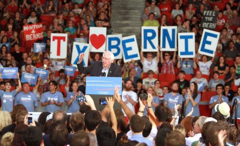 Bernie Sanders at the University of Houston