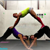 Yoga poses for three people - Amazing Yoga Poses