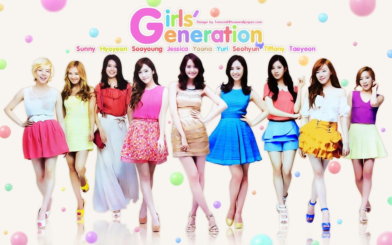 Biodata Dan Foto Personil Snsd Girls 39 Generation Musik