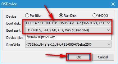 Chọn đúng ổ C chứa Windows