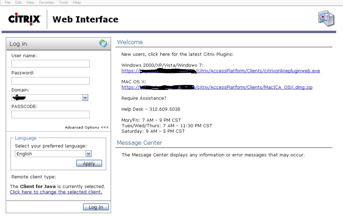 ica client 13.4.0.25