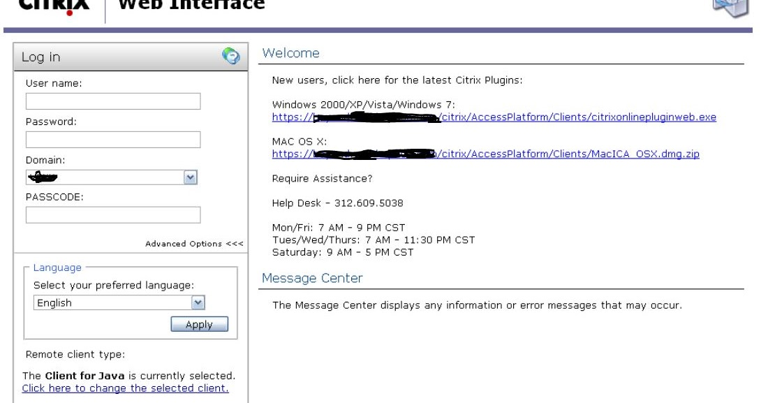 citrix online plugin 13.4.0.25