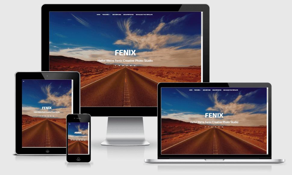 Fenix Portfolio - Responsive Creative Blogger Template