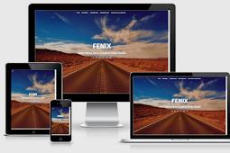 Fenix Portfolio Responsive Creative Blogger Template Free Download