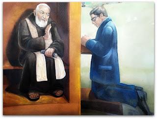 Confissão - Ermida São Pio, Faxinal do Soturno (RS)