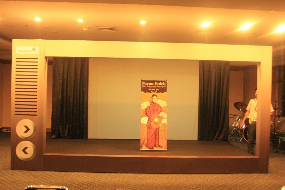 Frame Backdrop Di Permata Bank Jakarta Selatan
