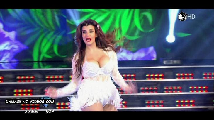 Charlotte Caniggia big bouncing boobs damageinc videos HD