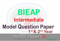 BIEAP Model Paper 2019 - AP Intermediate Model Paper 2019 1st yea 2nd year