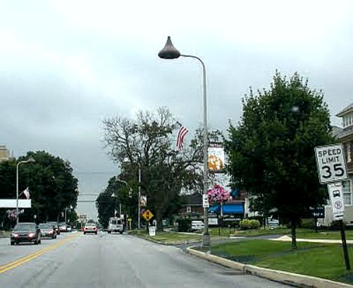 Hershey Kiss Street Lamps In Hershey Pennsylvania