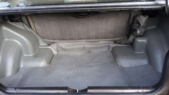 Honda Civic 3rd Gen Sedan Trunk Space Baggage