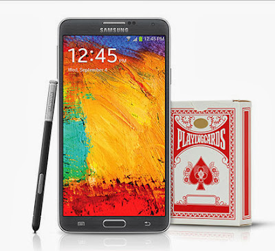 Samsung Galaxy Note 3 Giveaway