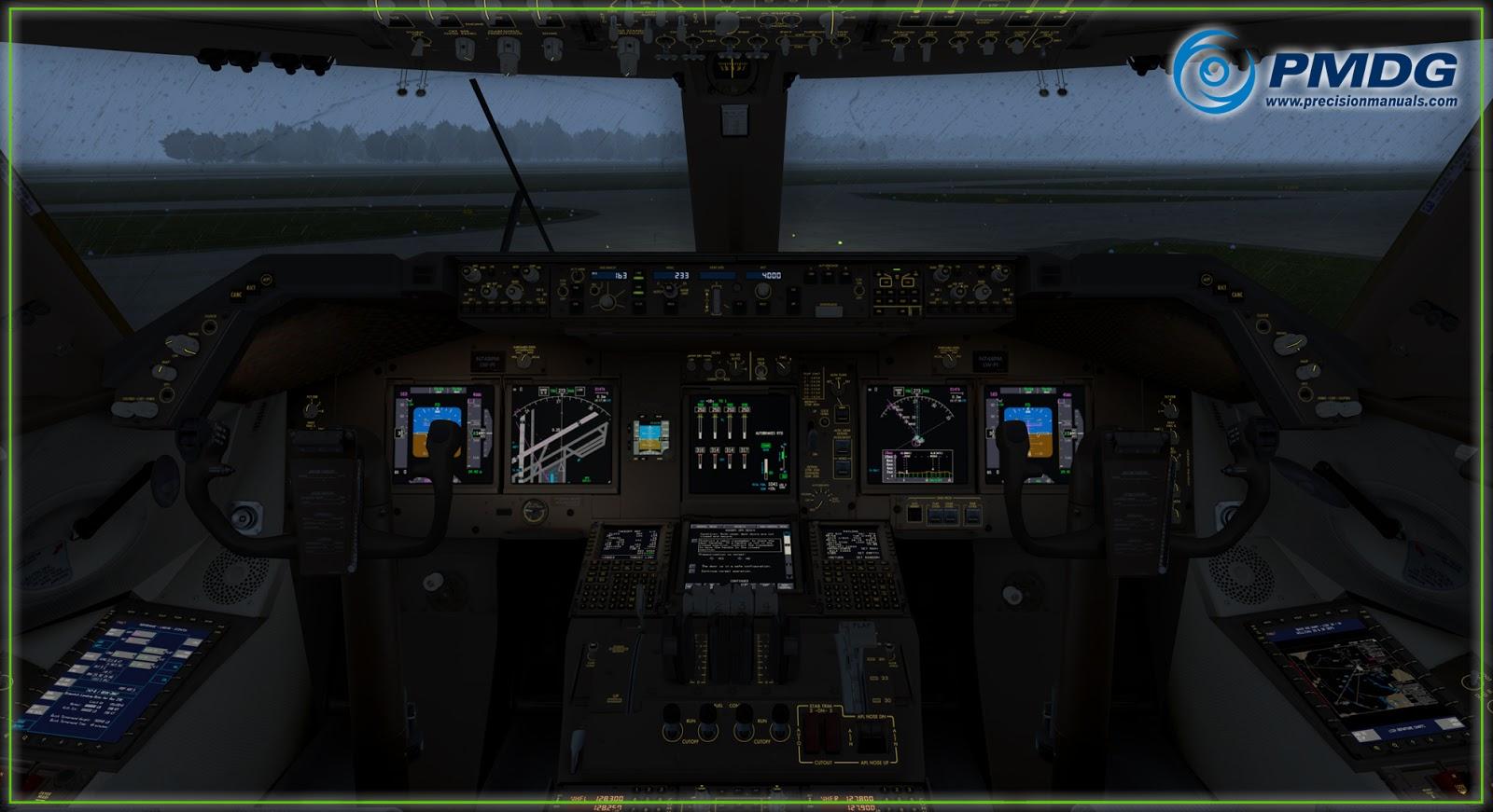 P3Dv4] PMDG 747-4/8 v3 00 9008 ~ ᴍᴇɢᴀᴅᴅᴏɴs ®