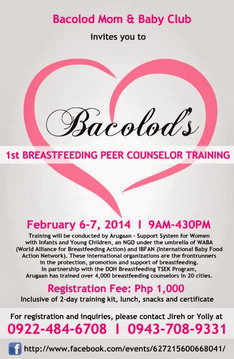 peer breastfeeding counselor upcoming trainings event read