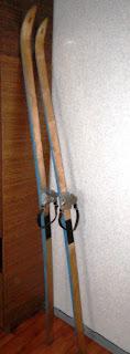 Мои лыжи готовы к зиме