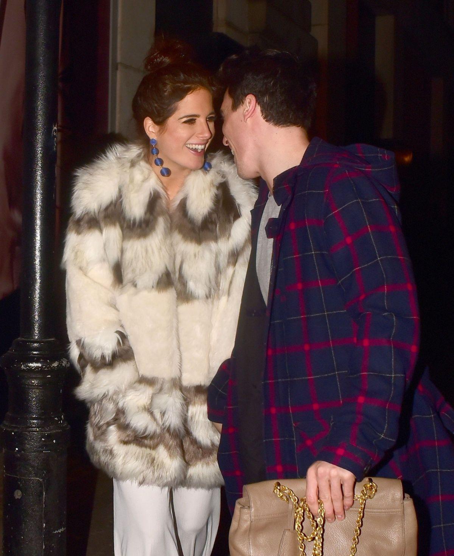 Alexandra Felstead At Valentines Party At Libertine Nightclub In London