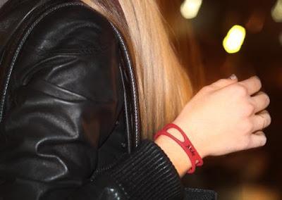 Joule caffeinated wristband
