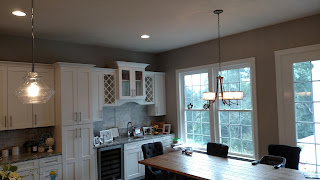 Spacious Interior Kitchen Painting