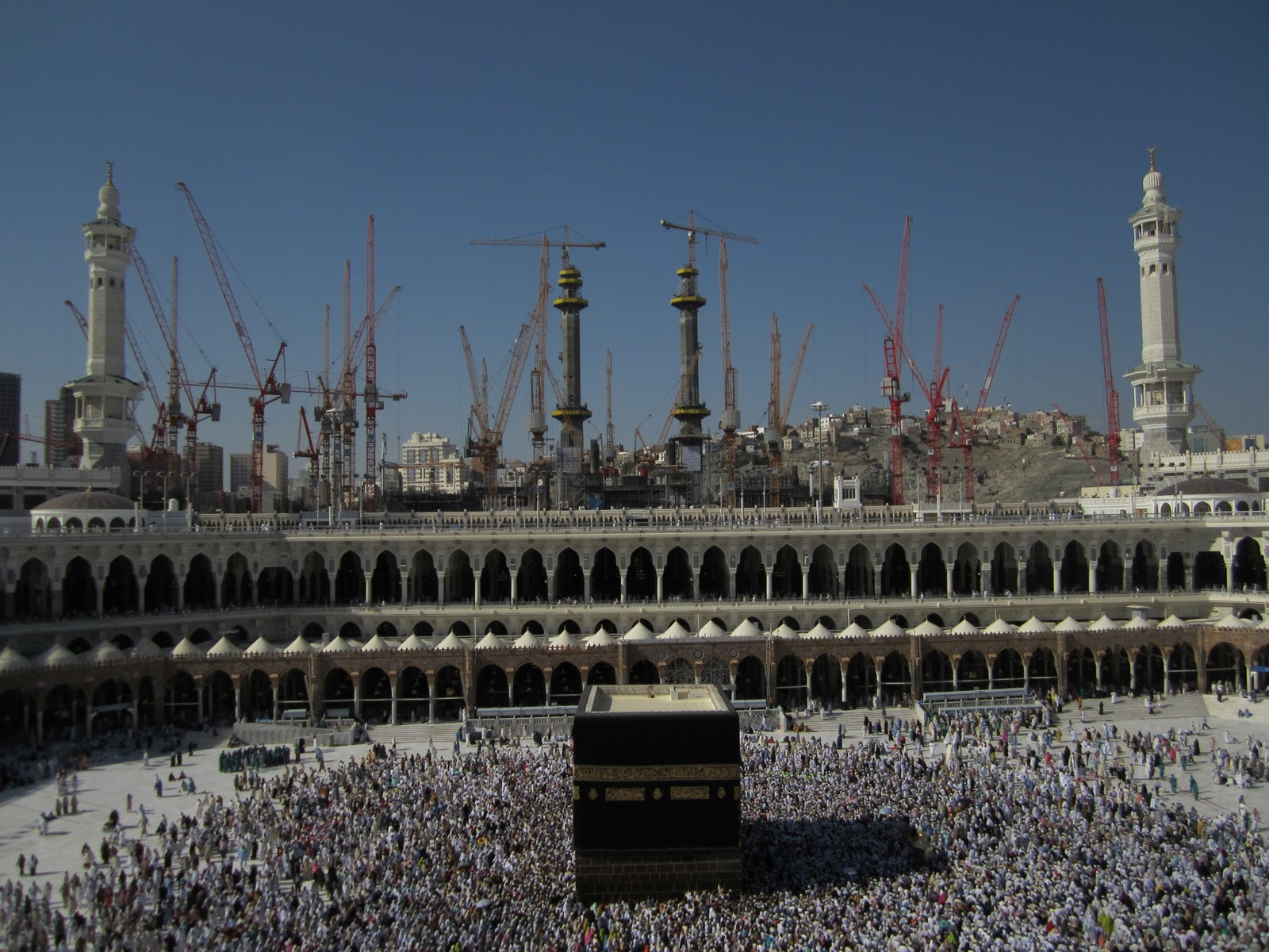 Pictures of Al Masjid Al Haram December 2011
