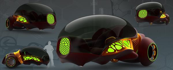 creature concept car