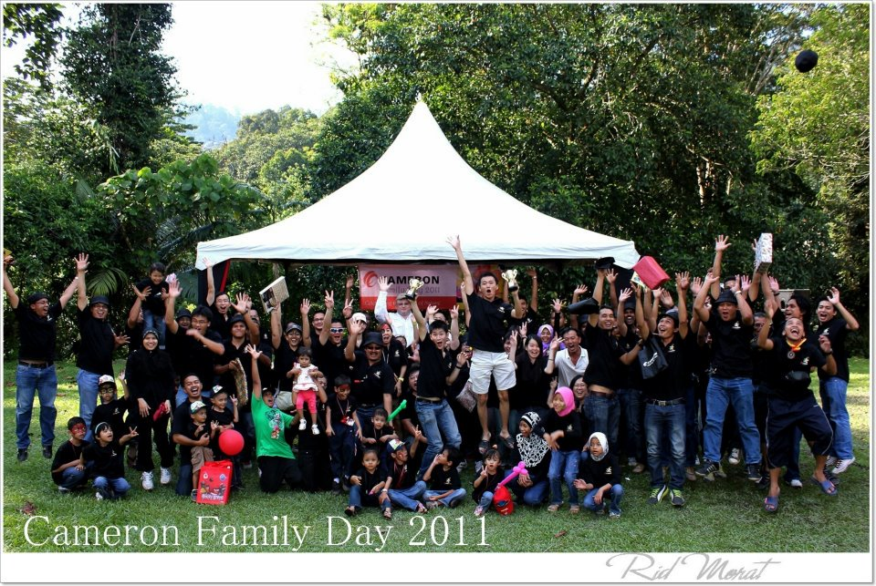 cameron family day