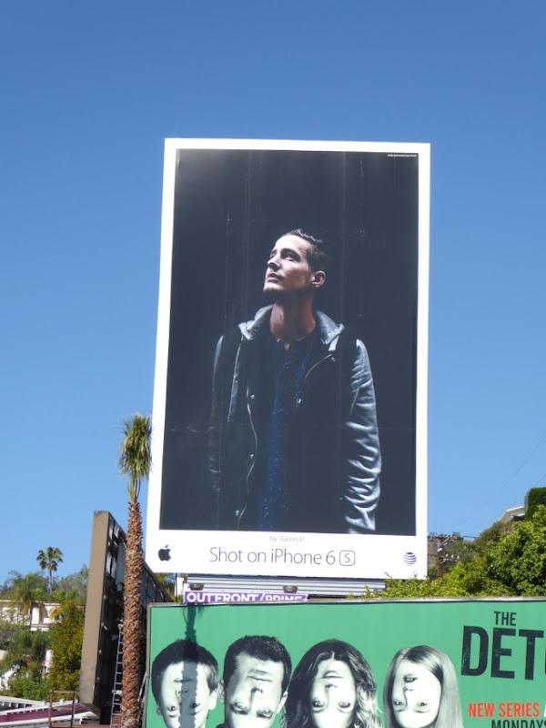 Shot on iPhone 6s Aaron P billboard