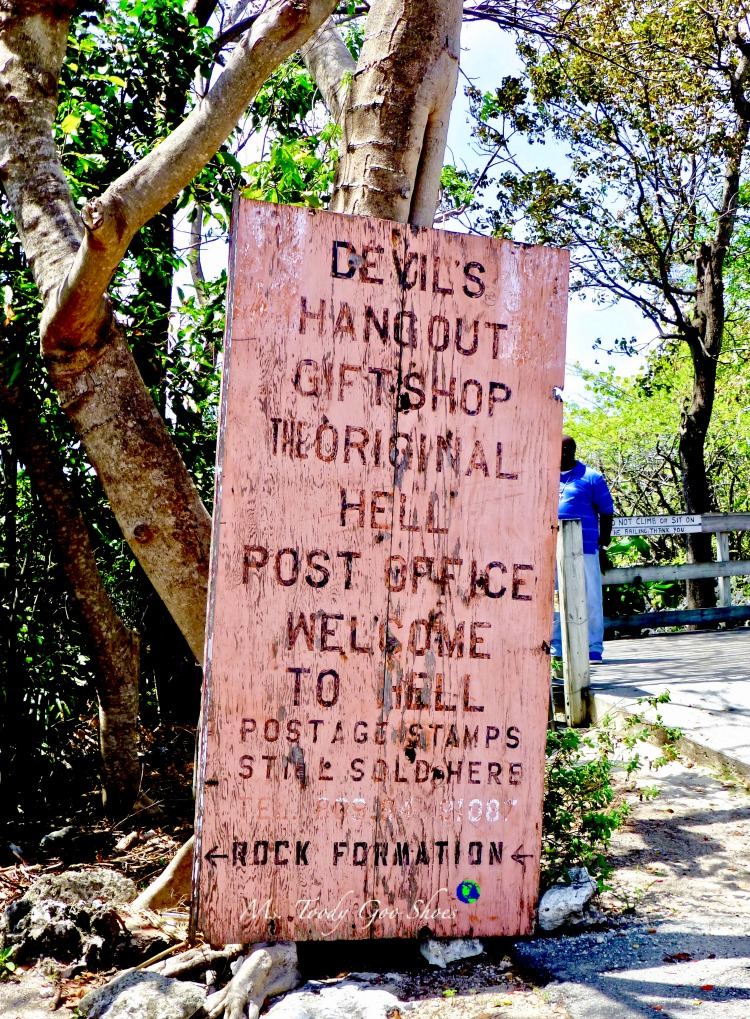 I love a clever sign, don't you? The town of Hell, Grand Cayman. Amusing Travel Signs From Around The World | Ms. Toody Goo Shoes
