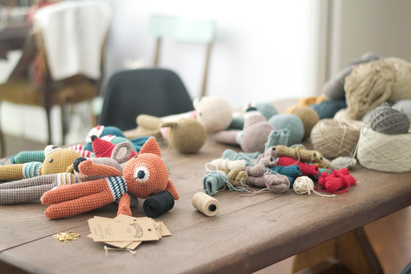 Amigurumi Mono Crochet Kit Patrón de Ganchillo Animal Patrón | Etsy | 1067x1600