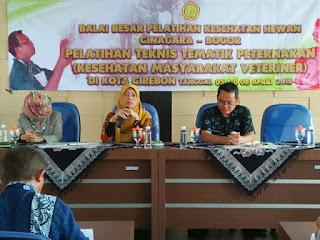 Pelatihan Tekhnik Tematik Peternakan Untuk Kalangan Masyarakat Veteriner pada DKP3