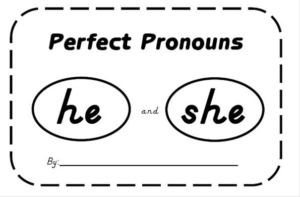 Love For Kindergarten: Sight Word Fun with PRONOUNS???