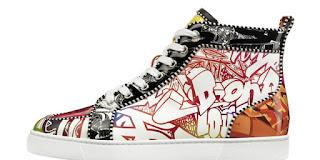 Mode:  Fashion Week, le pas de danse de Kevin Mischel en sneakers Louboutin3