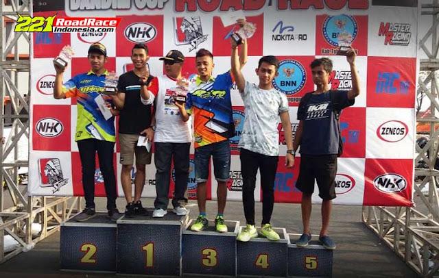 Hasil Road Race Tulungagung 2017, Dua Podium Teratas Diborong Pembalap Asal RIAU