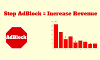 Disable AdBlock - Anti AdBlock JavaScript Code - Increase Revenues