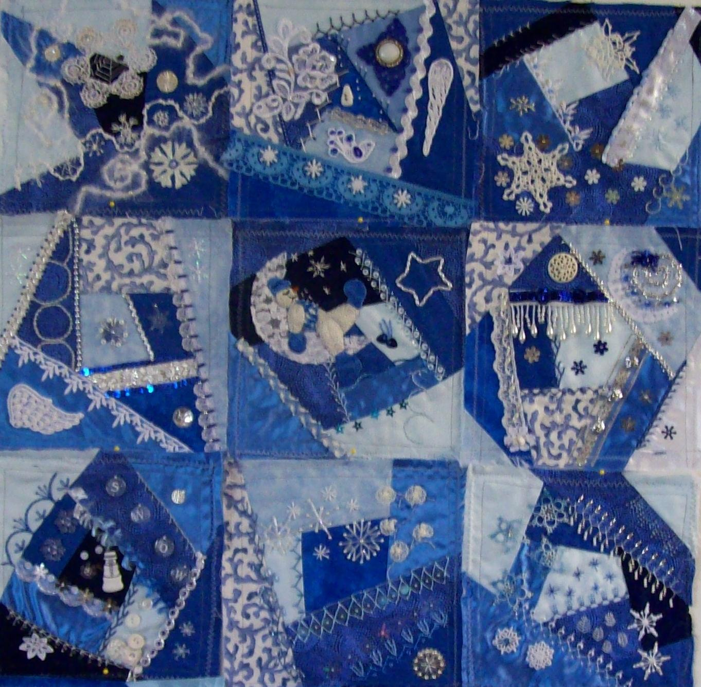 Stitchduchess Crazy Amp Sane Quilting World Winter Theme
