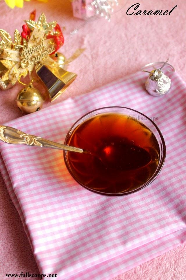 Caramel for Fruit Cakes