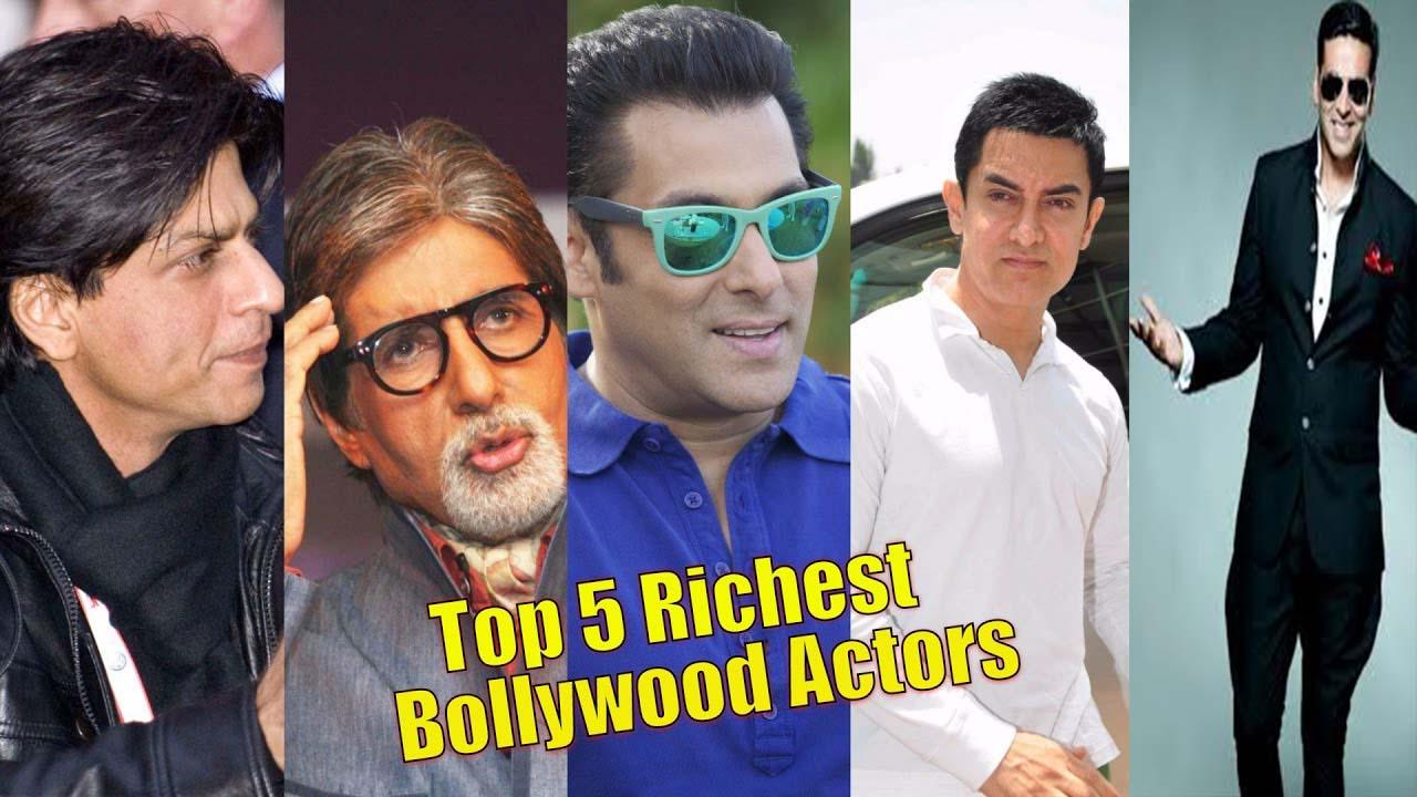 बॉलीवुड के 5 सबसे अमीर एक्टर जानिए No.1 एक्टर कौन है?