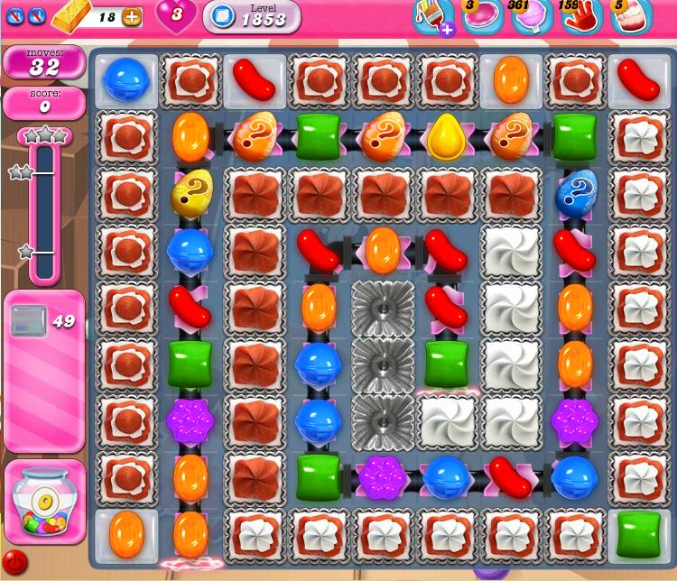 Candy Crush Saga 1853