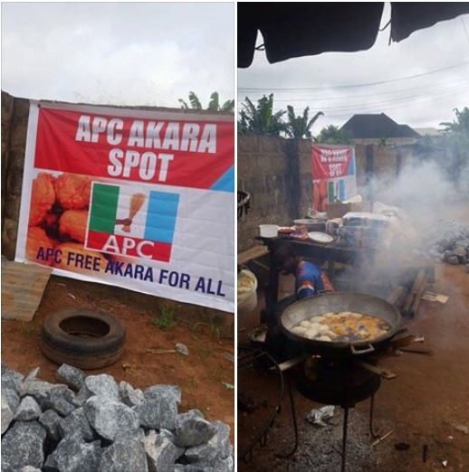 "BOMBSHELL!!! EDO APC USES ""AKARA"" INSTEAD OF RICE FOR GOVERNORSHIP CAMPAIGN – WHAT HAPPENED WILL SHOCK YOU (PHOTOS)"