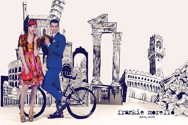 Frankie Morello Spring Summer 2012 Adv campaign