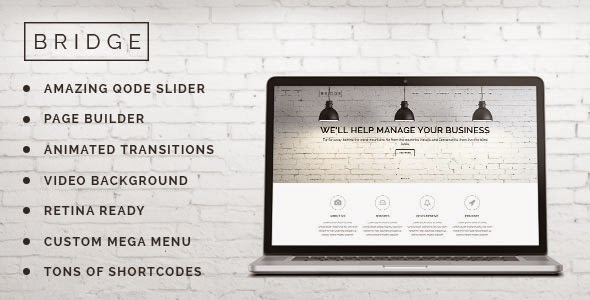 Bridge v5.3 Creative Multi-Purpose WordPress Theme Free