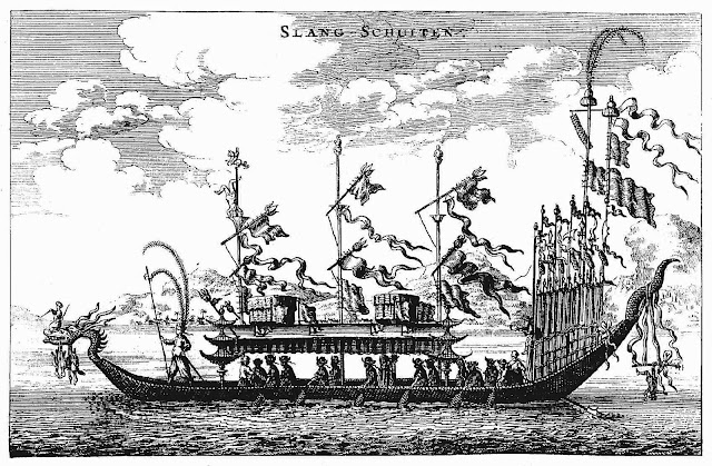 a 1666 royal cruise ship, China