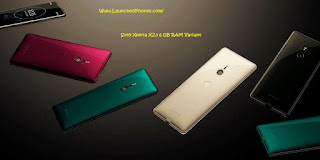 This latest Sony flagship band was launched inwards IFA  Sony Xperia XZ3 6GB RAM variant coming