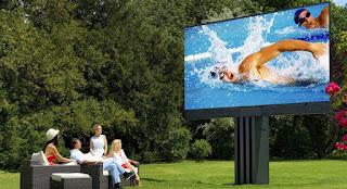 El televisor C SEED 201, es el televisor al aire libre más grande del mundo. El televisor led para casa más grande del mundo