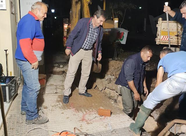 Άμεση κινητοποίηση συνεργείων της ΔΕΥΑΡΜ για αποκατάσταση βλάβης